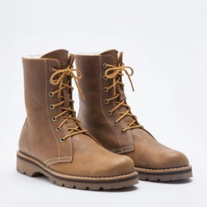 Roots Sheepskin Swag Boots