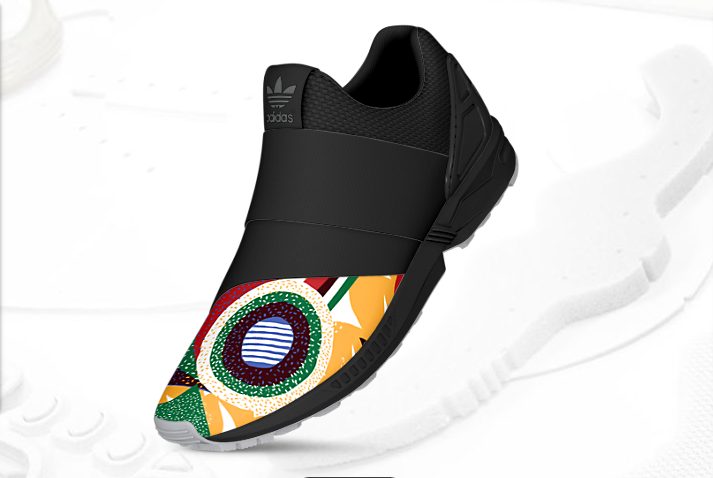 mi adidas ZX Flux Slip On Africa 2