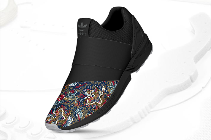 mi adidas ZX Flux Slip On Asia 1