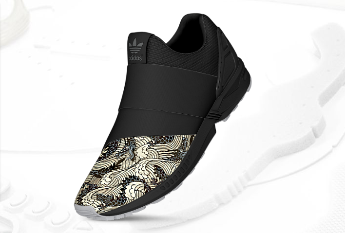 mi adidas ZX FLux Slip On Asia 2