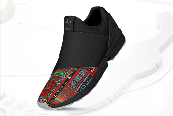 mi adidas ZX Flux Slip On Latin America 1