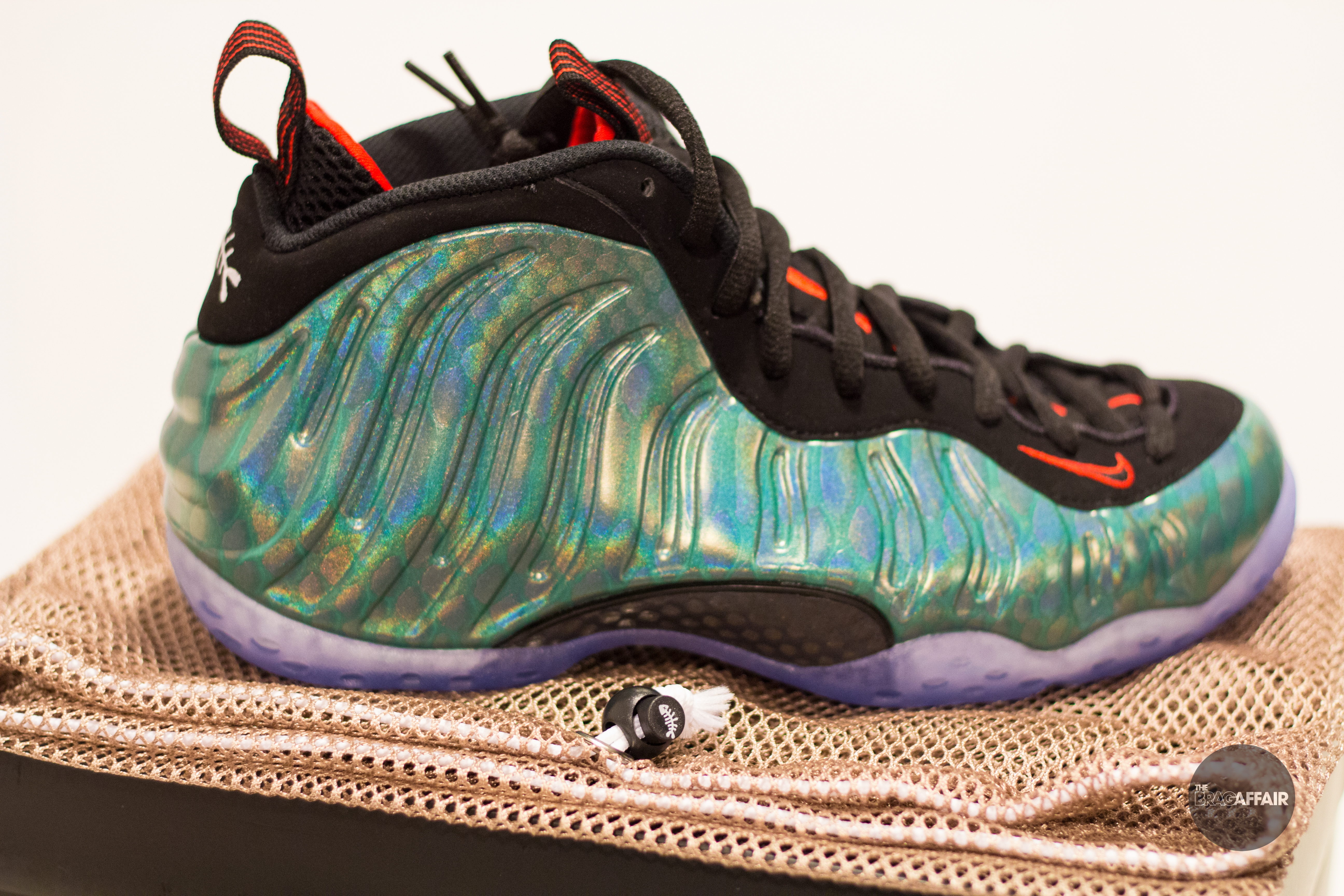 "bb9887bc3769c Nike Foamposite One ""Gone Fishing"" Video Review – The Brag Affair"