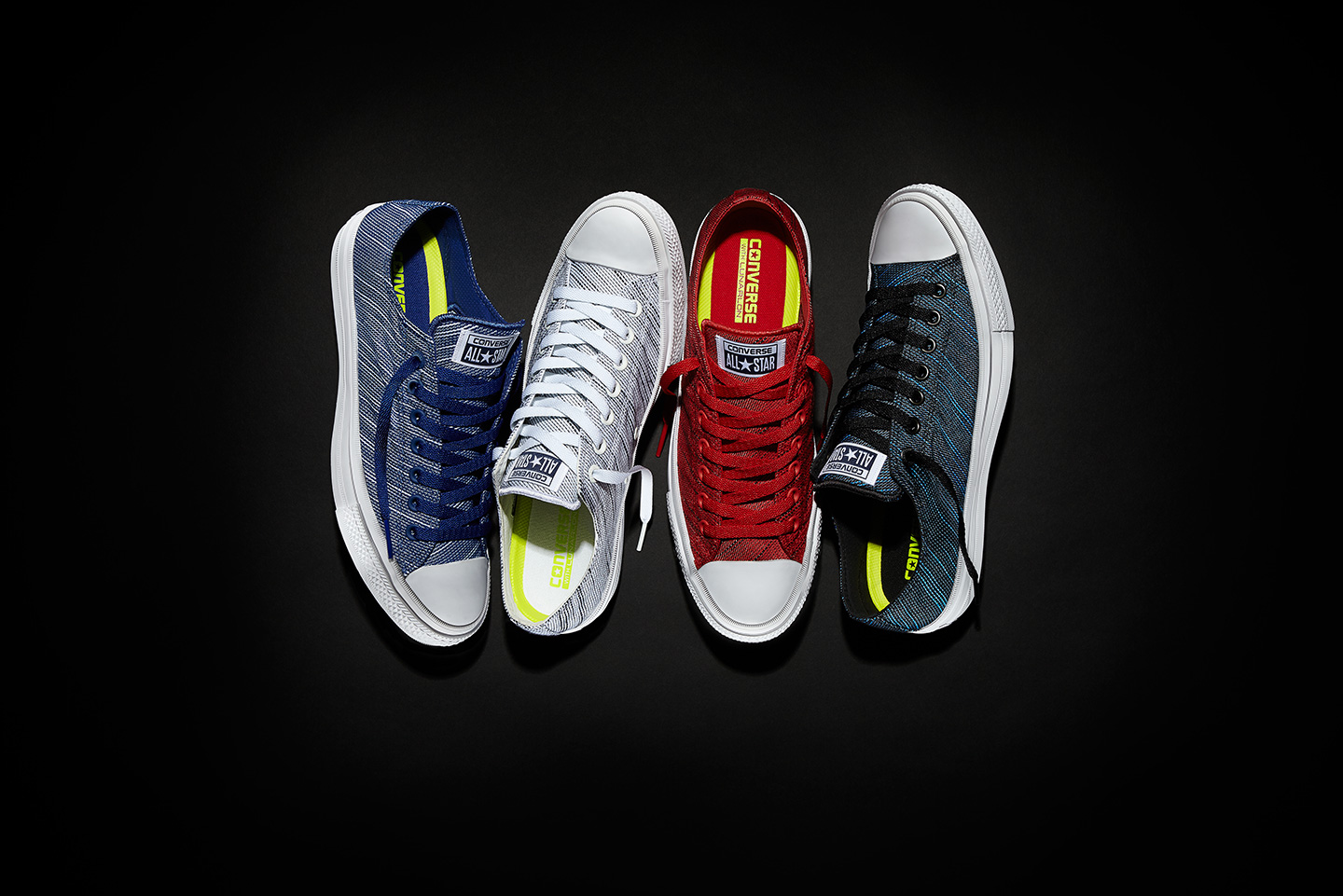 6d5ac6ec6a70f7 The new Converse Chuck Taylor All Star II Knit collection complements you  for the spring with a launch date of April 25 in Volt Green