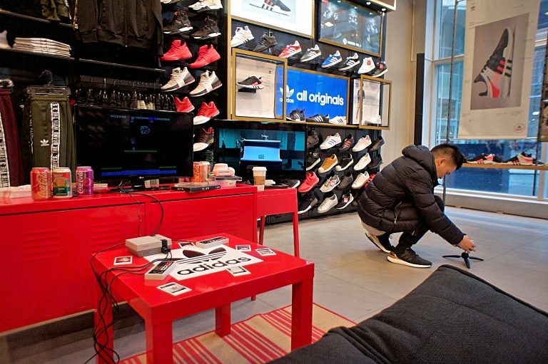 @sgo8 always working at Foot Locker on 247 Yonge Street