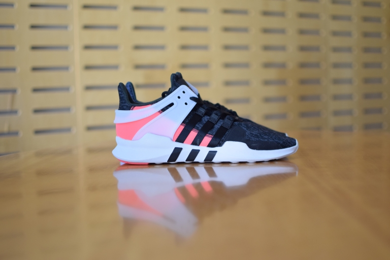 "adidas EQT Support ADV ""Core Black/Turbo Red"""