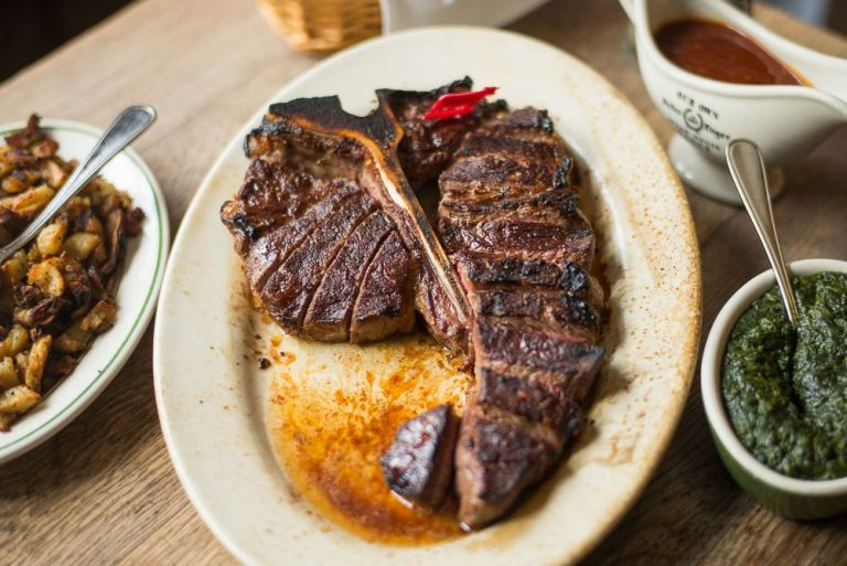 Peter Luger Steakhouse via Nick Solares/Eater NY