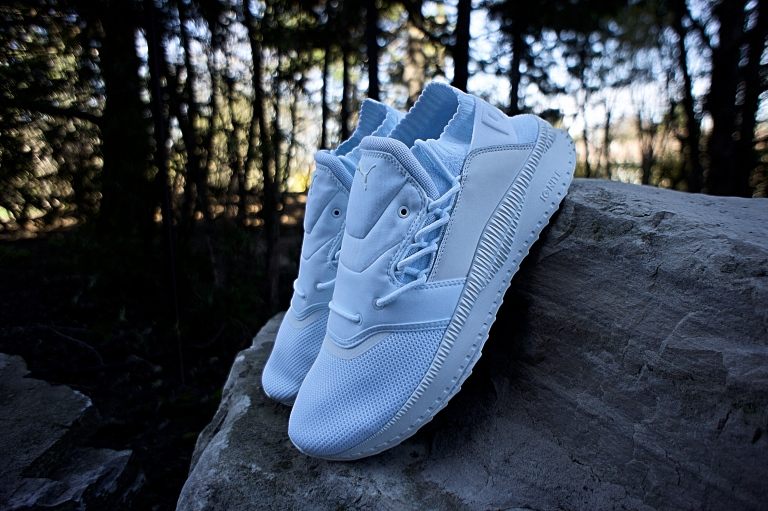 1051817198215e The PUMA Tsugi Shinsei in two monochromatic colourways are available now at  PUMA Lab Queen Street West